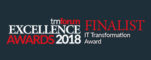 TM Forum Excellence Awards Finalist