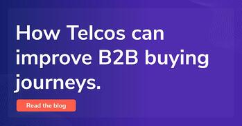 How Telcos can improve B2B buying journeys